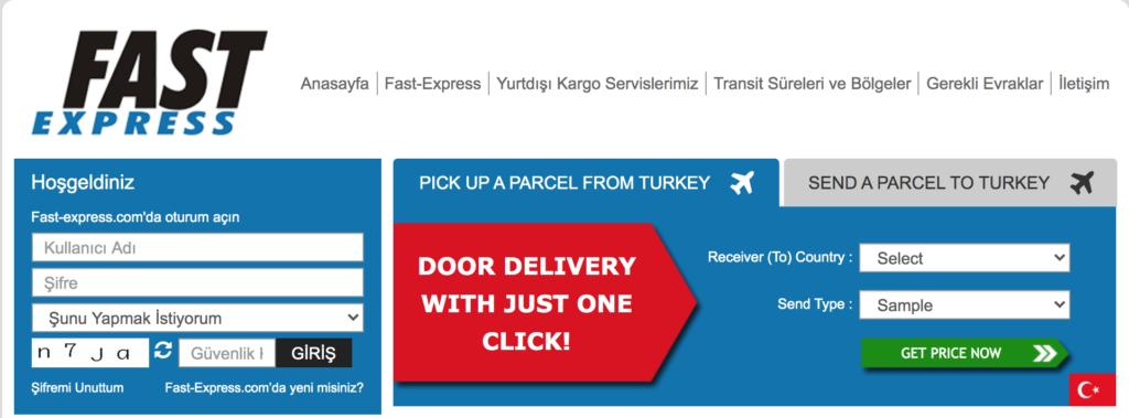 fast express yurtdışı kargo